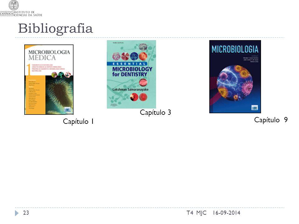 Bibliografia T4 MJC23 Capítulo 3 16-09-2014 Capítulo 9 Capítulo 1