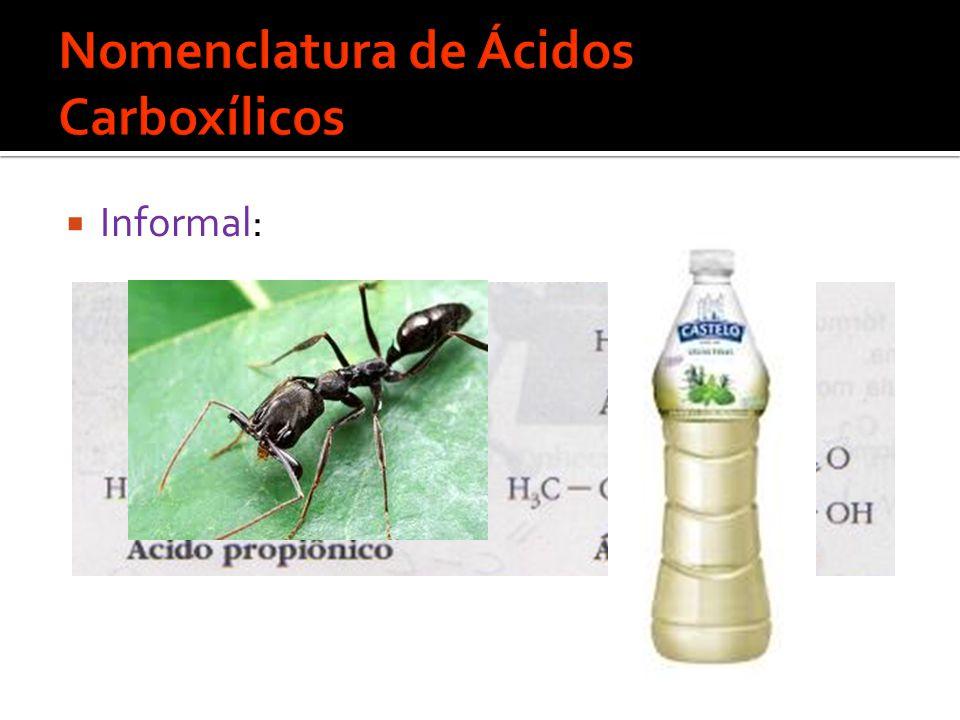  Informal: