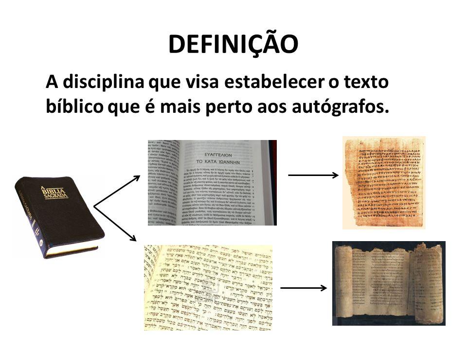 CRÍTICA TEXTUAL DO AT Em termos gerais, o texto do AT atual baseia- se no texto masorético (texto 'padrão').