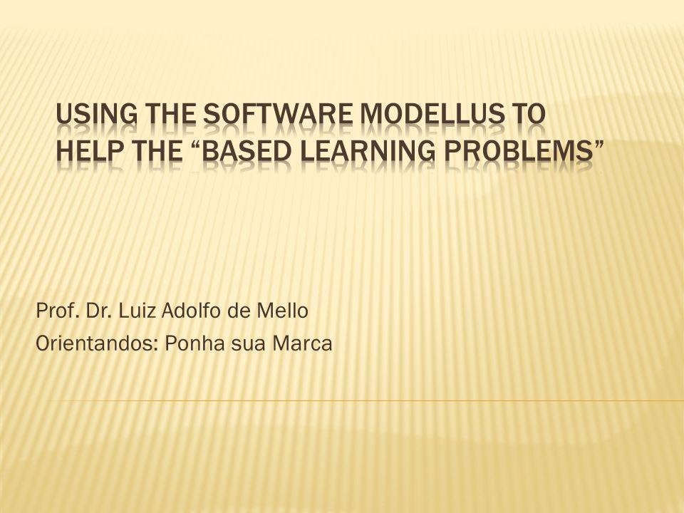  Vamos mostrar aqui como o software educacional Modellus pode ser usado para se construir exemplos virtuais de problemas de física, que quando usados com um conjunto apropriado de questões pode tornar-se uma poderosa ferramenta de ensino no espírito do construtivismo e na metodologia de aprendizado por problemas (based learning problems).
