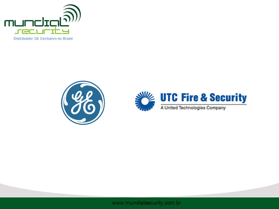 Distribuidor GE Exclusivo no Brasil www.mundialsecurity.com.br