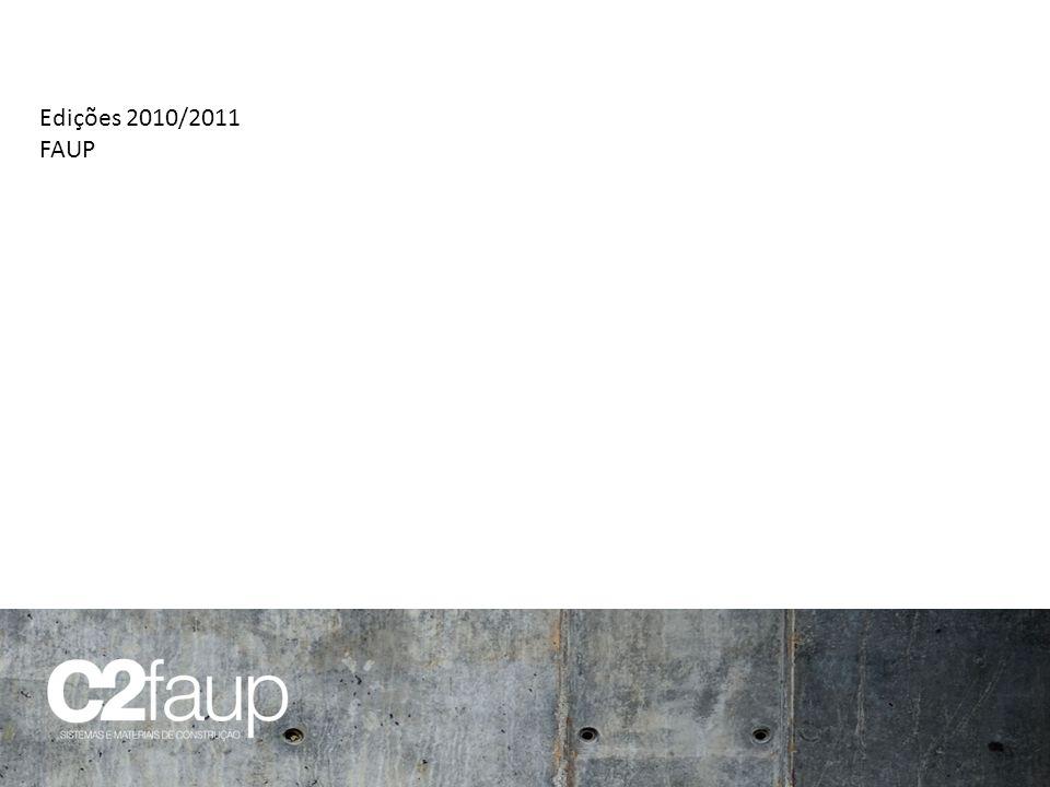 Edições 2010/2011 FAUP