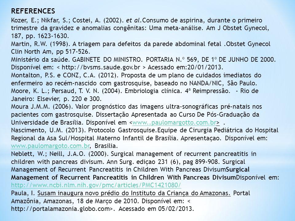 Kozer, E.; Nikfar, S.; Costei, A.(2002).