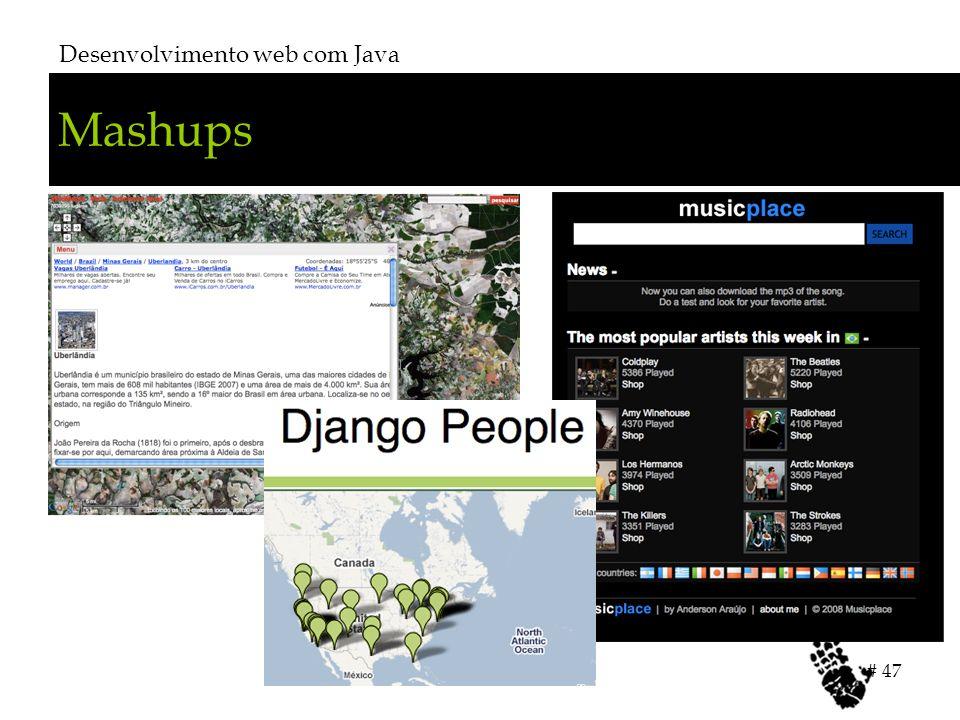 Mashups Desenvolvimento web com Java # 47