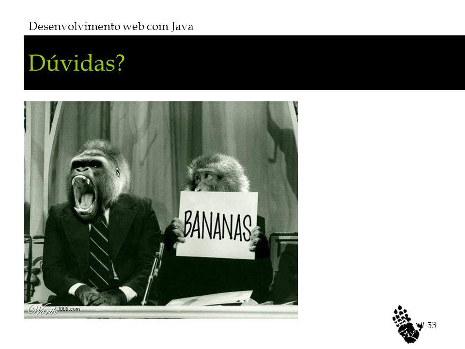 Desenvolvimento web com Java # 53 Dúvidas?
