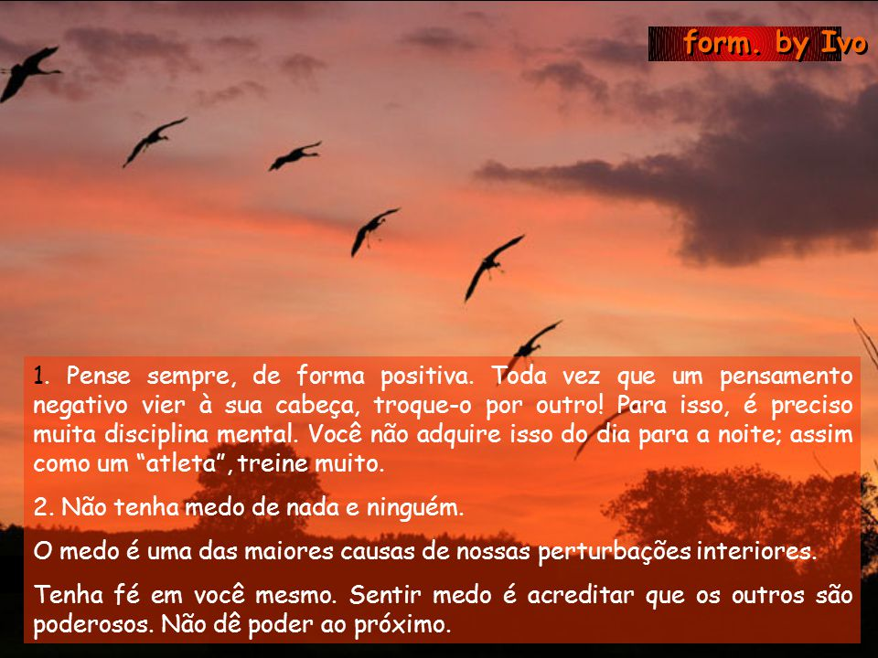 form. by Ivo ESTRATÉGIAS MENTAIS (O que você deve fazer de dentro para fora) ESTRATÉGIAS MENTAIS (O que você deve fazer de dentro para fora)