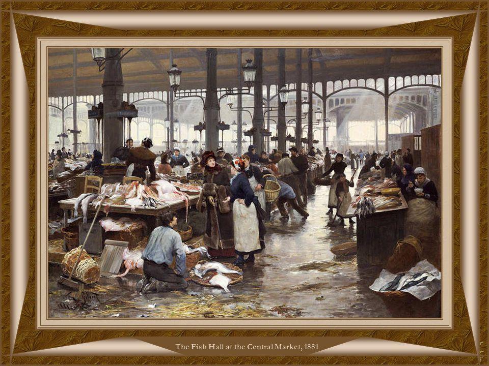 The Flower Market, 1881