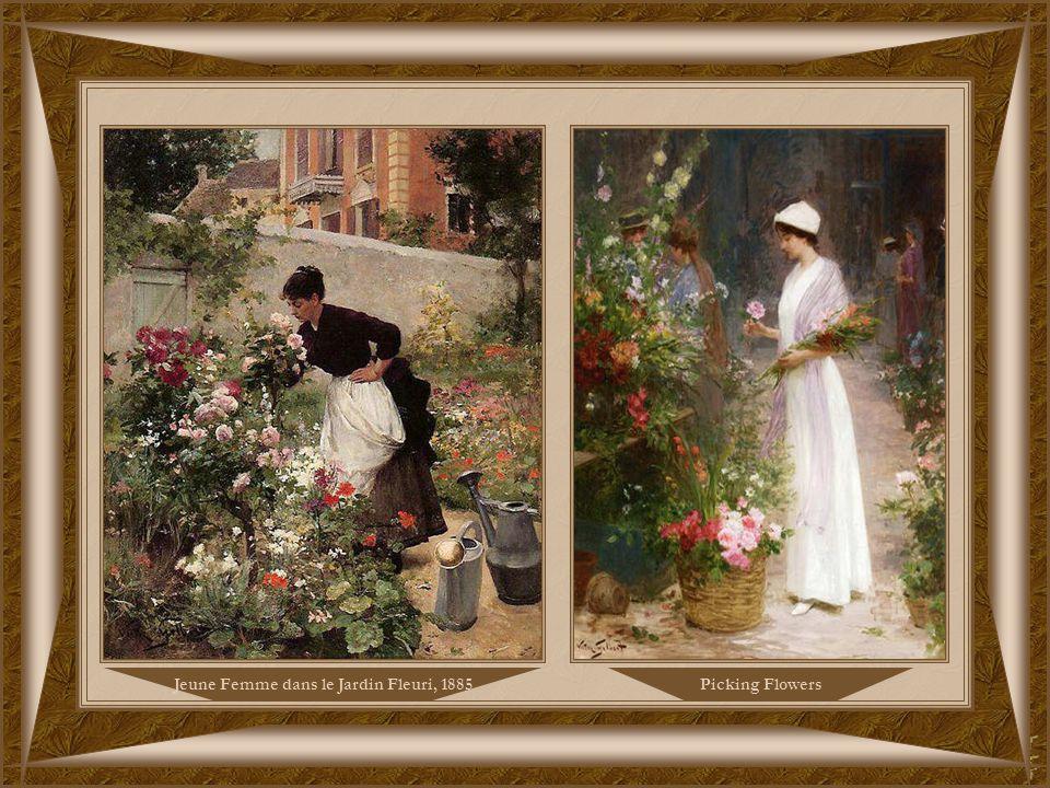 Marché aux Fleurs, 1885