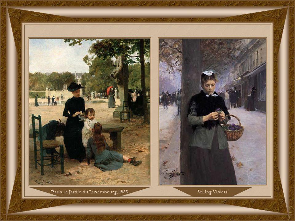The Flower Seller, 1885