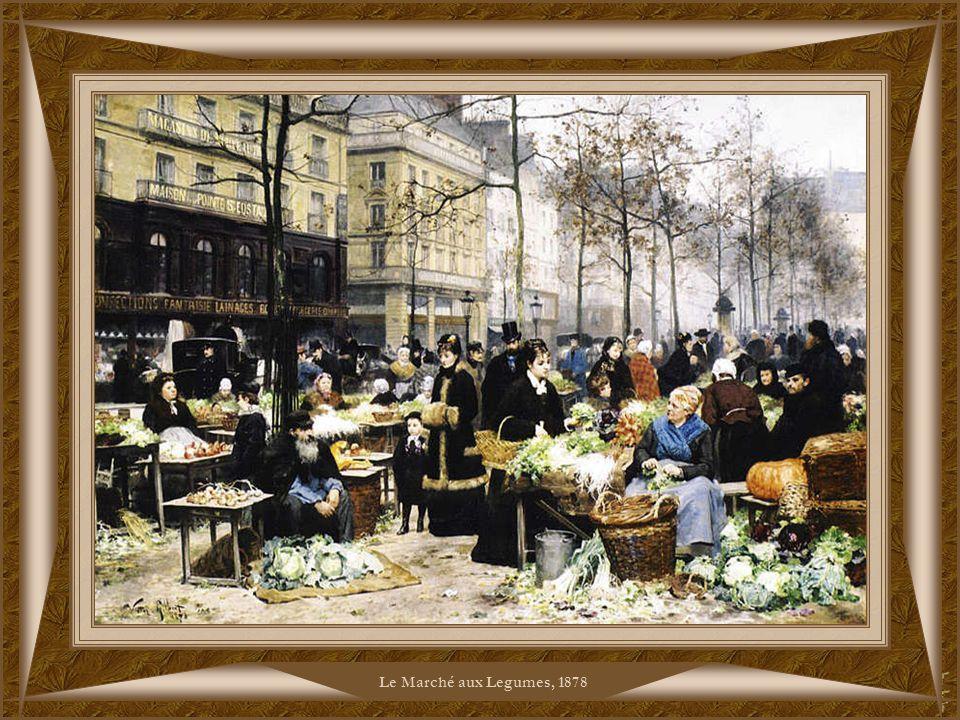 Le Marché aux Legumes, 1878
