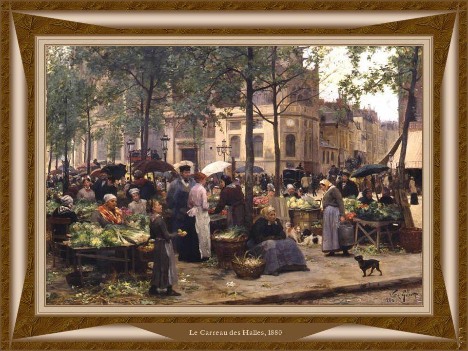 Le Carreau des Halles, 1880