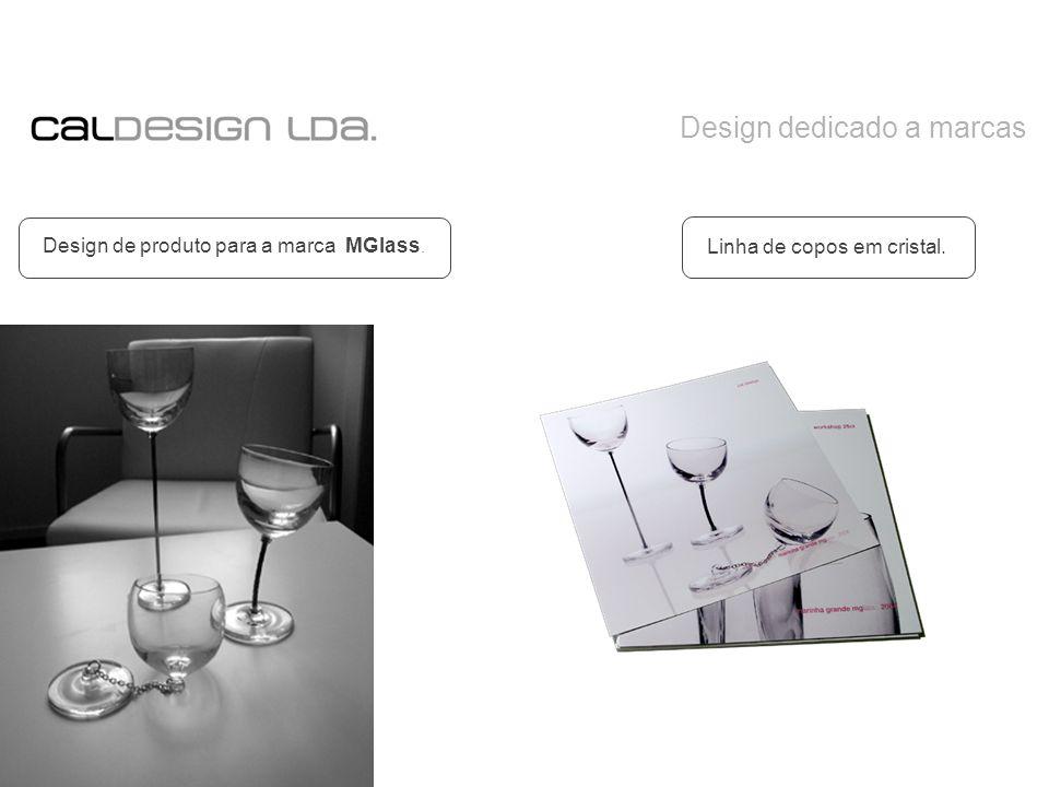 Design dedicado a marcas Design de produto para a marca MGlass. Linha de copos em cristal.