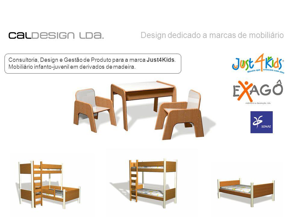 Design dedicado a marcas de mobiliário Consultoria, Design e Gestão de Produto para a marca Just4Kids.