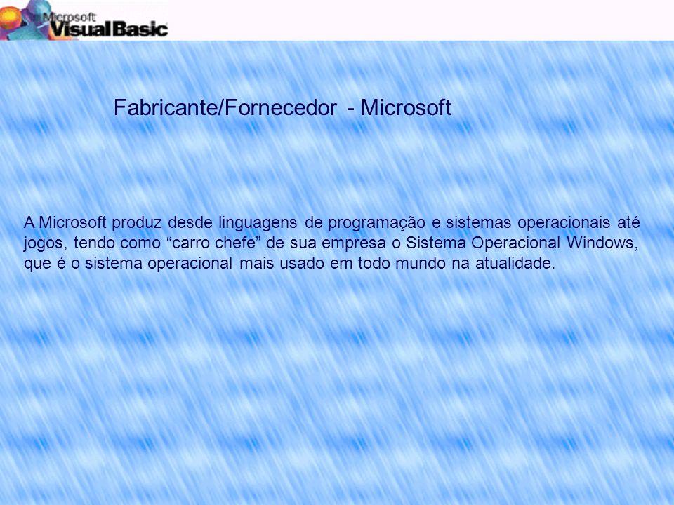 Nesta sessão avaliaremos se o Microsoft Visual Basic atende os princípios de um bom Design de Software.