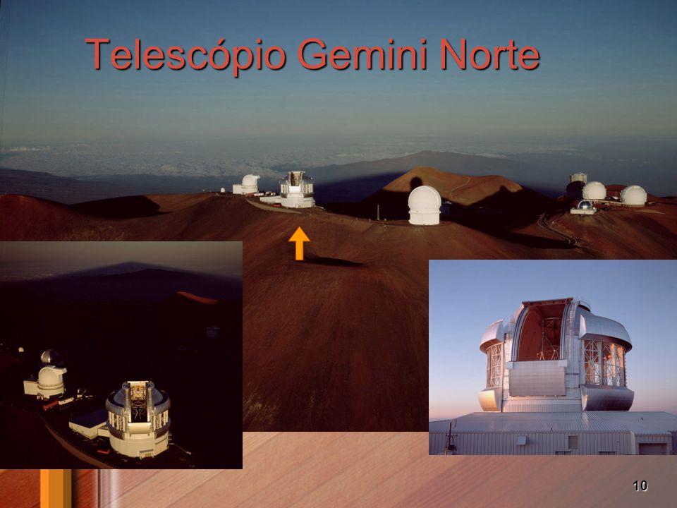 10 Telescópio Gemini Norte