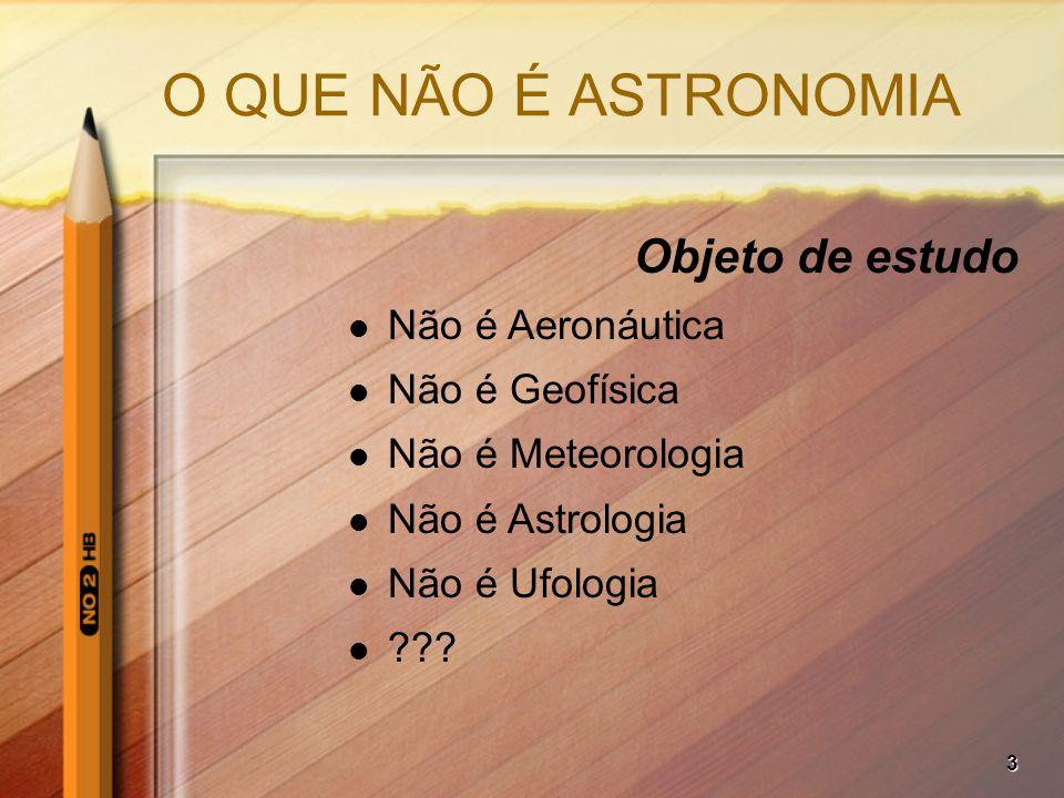 24 COM MELHOR SINAL: Objetos mais fracos –Partes menos brilhantes de objetos extensos –Estrelas, asteróides, etc.