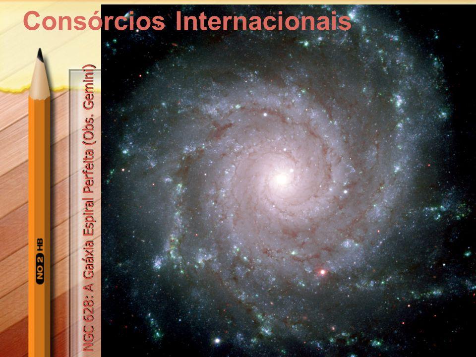 7 Consórcios Internacionais NGC 628: A Gaáxia Espiral Perfeita (Obs. Gemini)