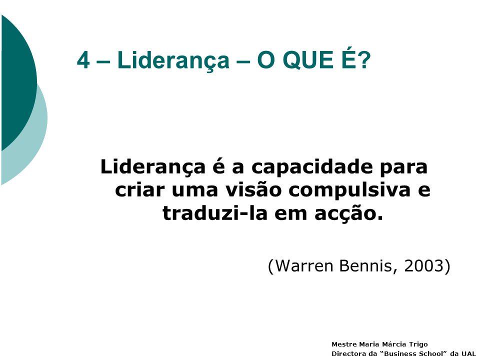 4 – Liderança – O QUE É.