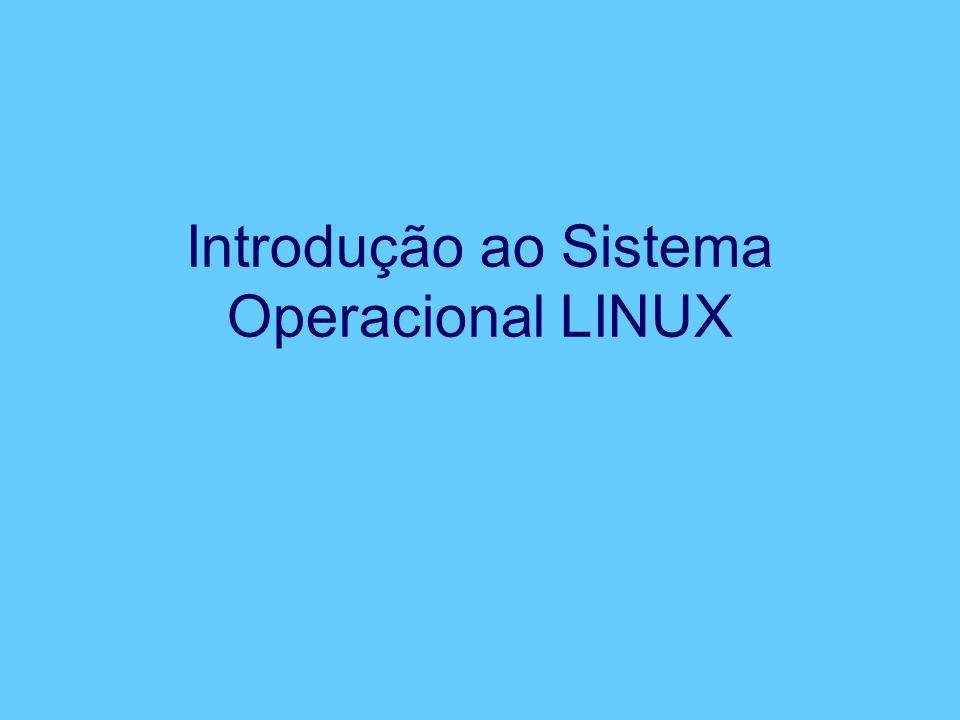 Introdução ao Sistema Operacional LINUX