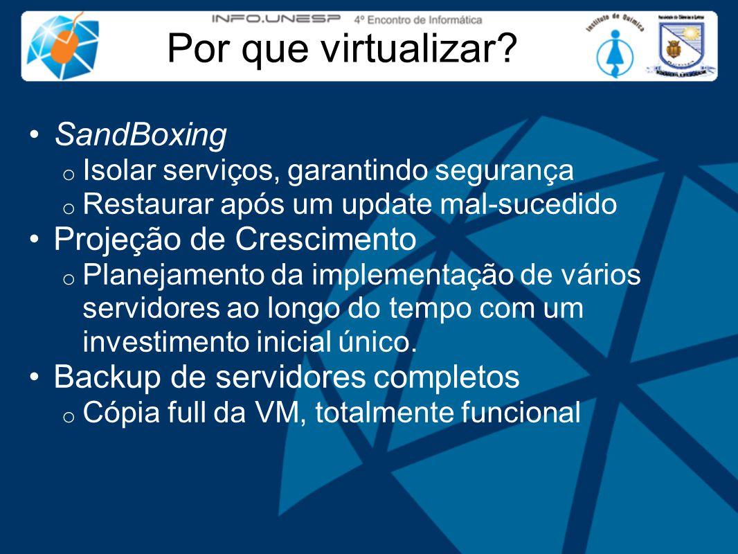 Por que virtualizar.