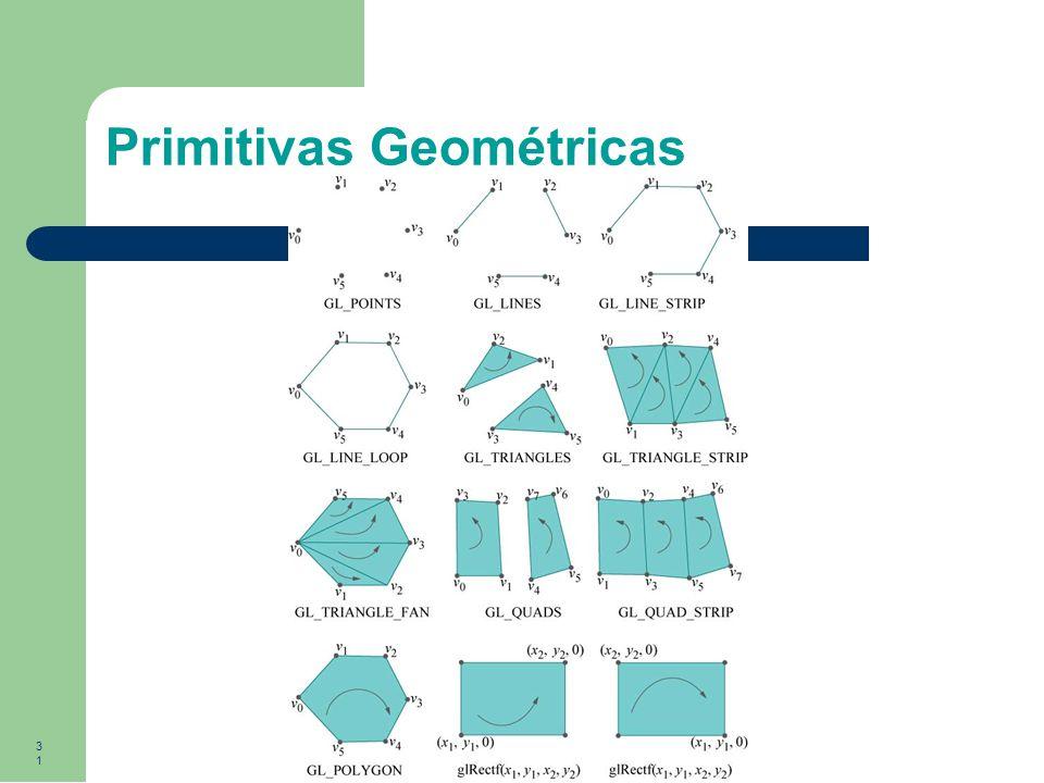 31 Primitivas Geométricas