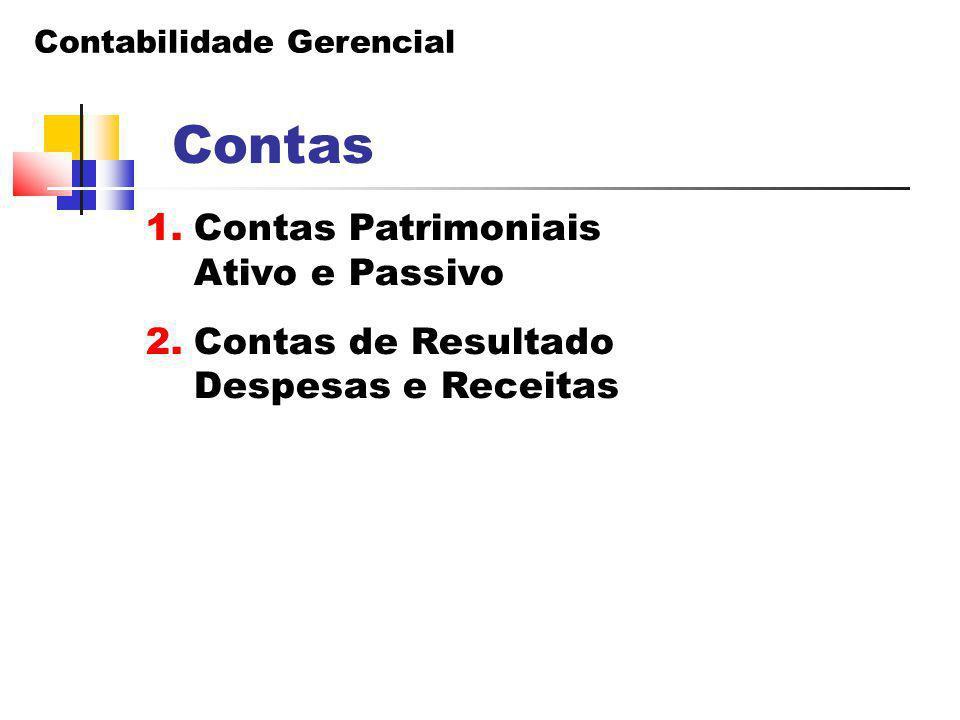 Contabilidade Gerencial Balanço Patrimonial 1.2) Não Circulante - Real.