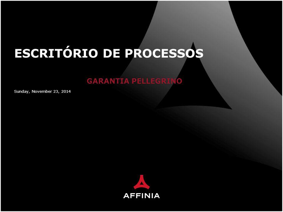 Sunday, November 23, 2014 ESCRITÓRIO DE PROCESSOS GARANTIA PELLEGRINO