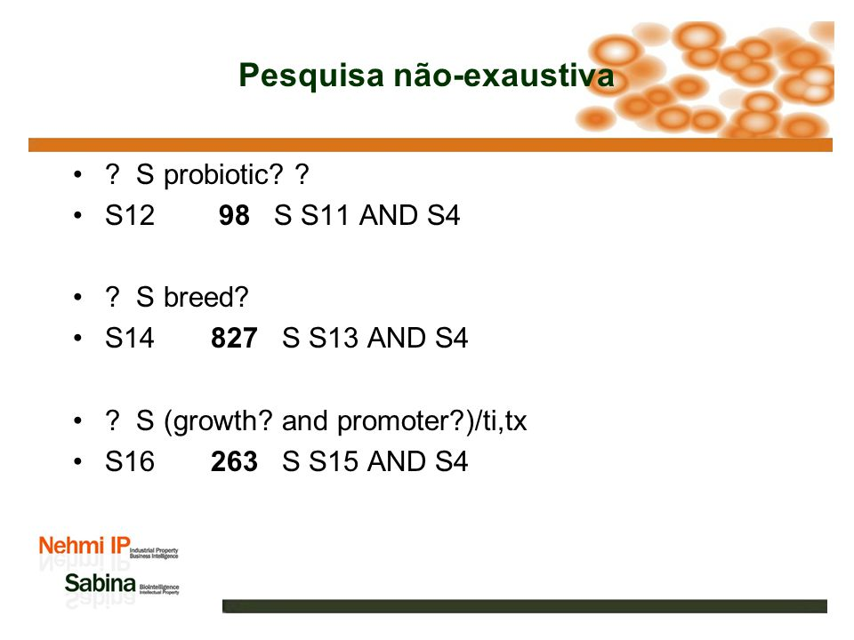 Pesquisa não-exaustiva ? S quality or enhance? S7 8645 S S6 AND S1 ? S Bos(N)Taurus S8 86 S BOS(N)TAURUS ? S feed? and (CLA or supplement? ? or additi