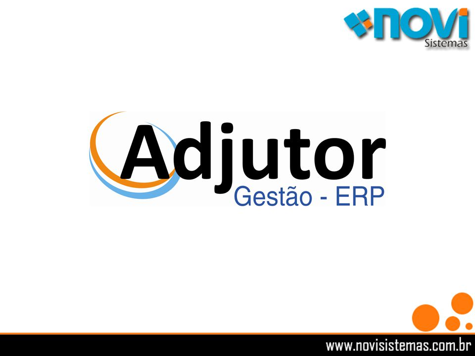 Adjutor Gestão Empresarial desenvolvido para a pequena e média empresa.
