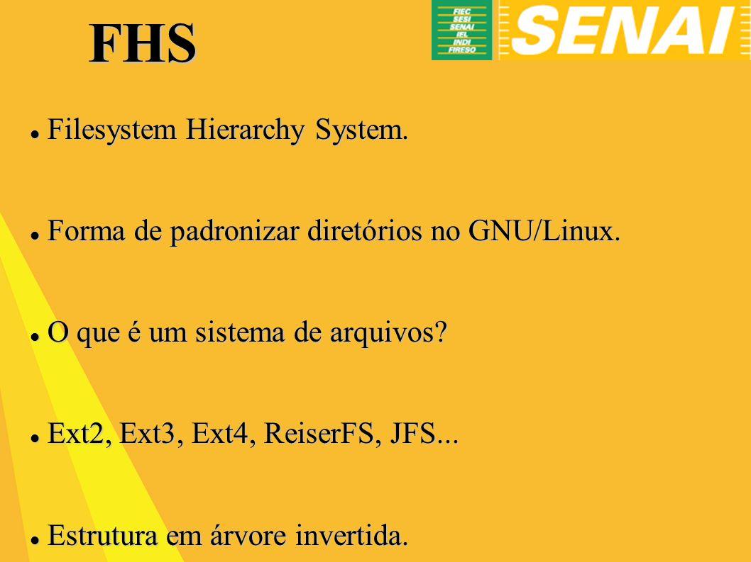 FHS Filesystem Hierarchy System.Filesystem Hierarchy System.