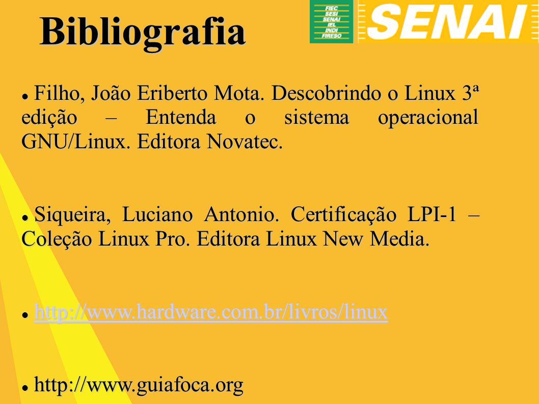 Bibliografia Filho, João Eriberto Mota.