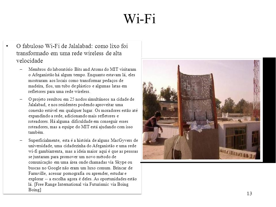 13 Wi-Fi
