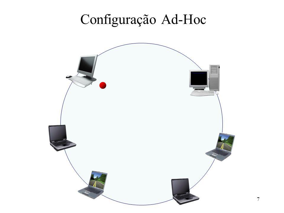 7 Configuração Ad-Hoc