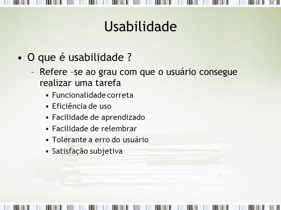 Usabilidade O que é usabilidade .