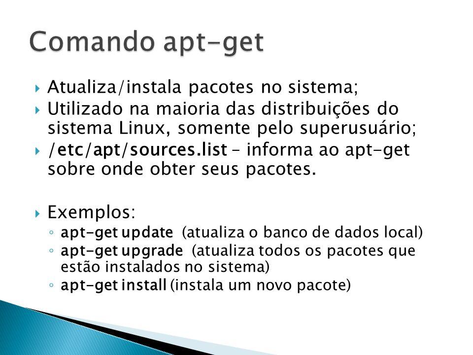  Ferramenta completa para gerenciamento de pacotes utilizando o Sistema de Pacotes Debian (Debian Package System);  Tal como o apt-get, é utilizado somente pelo superusuário do sistema.