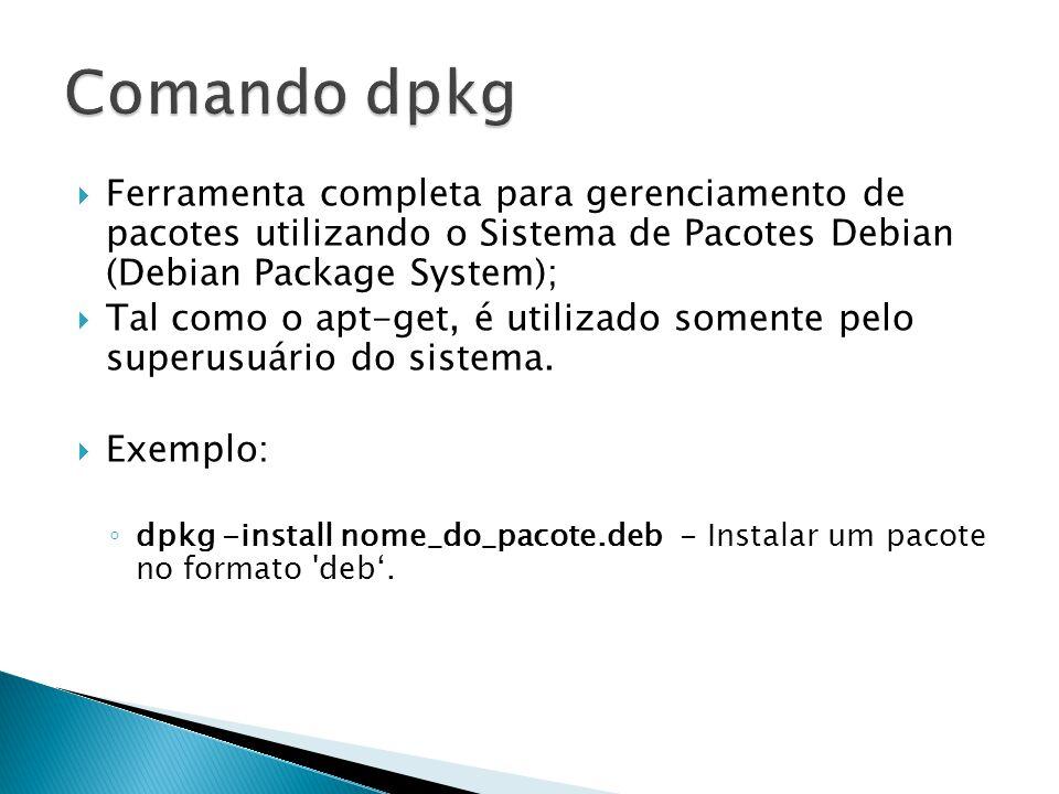  /dev/hdXX : reconhece os dispositivos conectados às interfaces IDE;  /dev/ttyX: corresponde ao shell onde o usuários está logado;  /dev/ttySX : corresponde aos dispositivos conectados às portas seriais;  /dev/lpX : corresponde aos dispositivos conectados às portas paralelas.