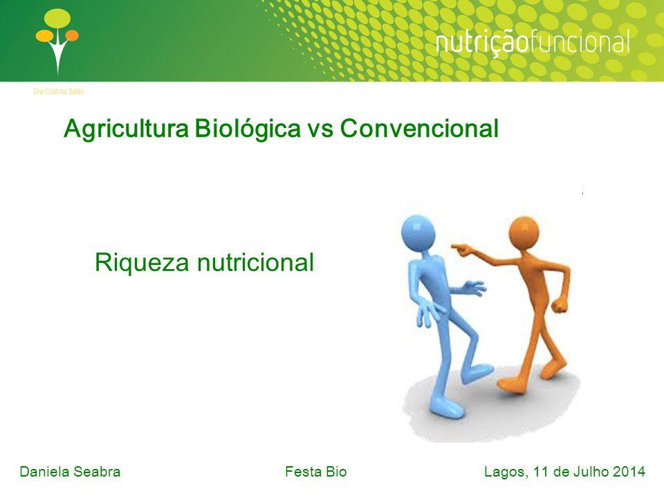 Riqueza nutricional Daniela SeabraFesta Bio Lagos, 11 de Julho 2014