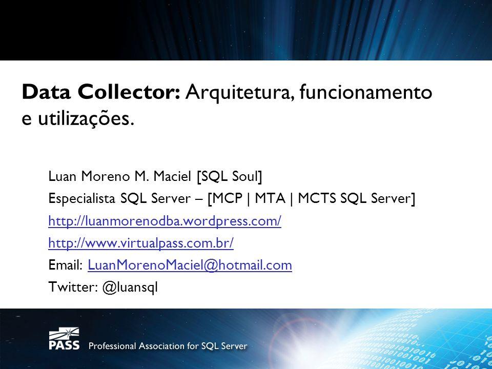 Informações da Sessão Agenda: Introdução Conceitos e Nomenclatura Arquitetura e Processamento Funcionamento Curiosidades Melhores Práticas Demos!