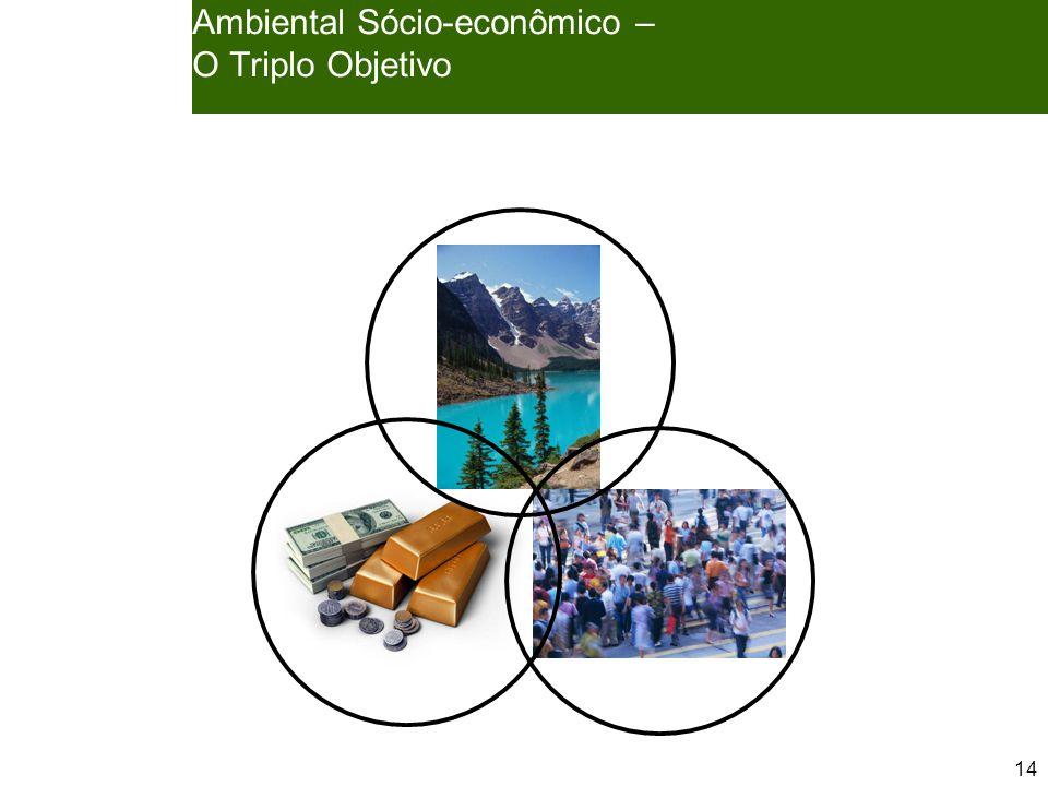 14 Ambiental Sócio-econômico – O Triplo Objetivo