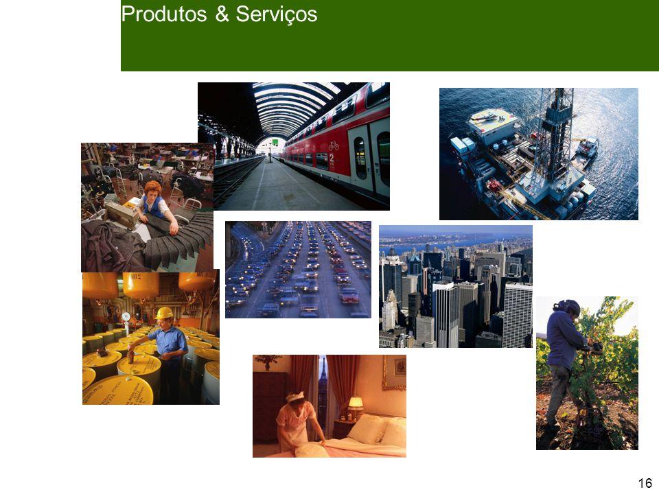 16 Produtos & Serviços