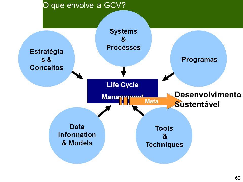 62 O que envolve a GCV.