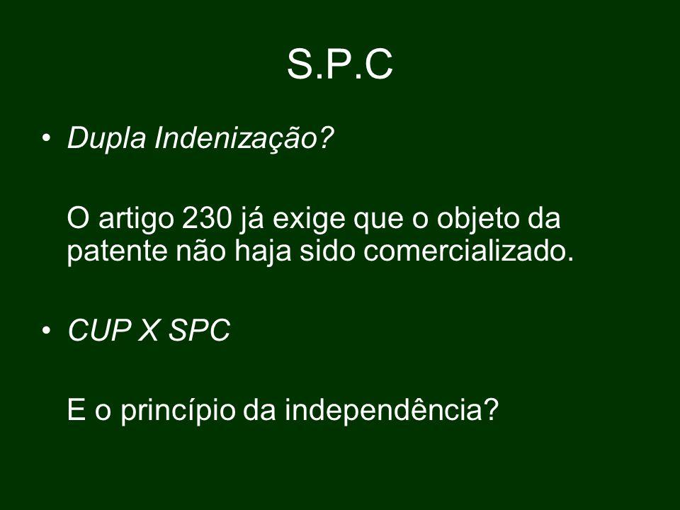S.P.C Dupla Indenização.