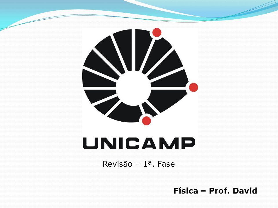 Revisão – 1ª. Fase Física – Prof. David