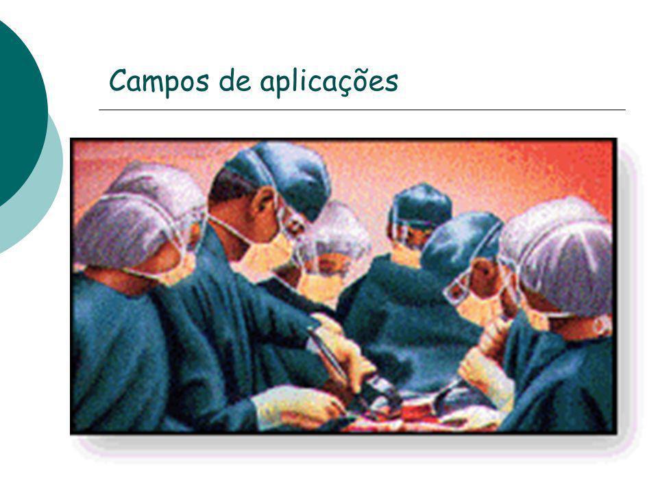 Campos de aplicações
