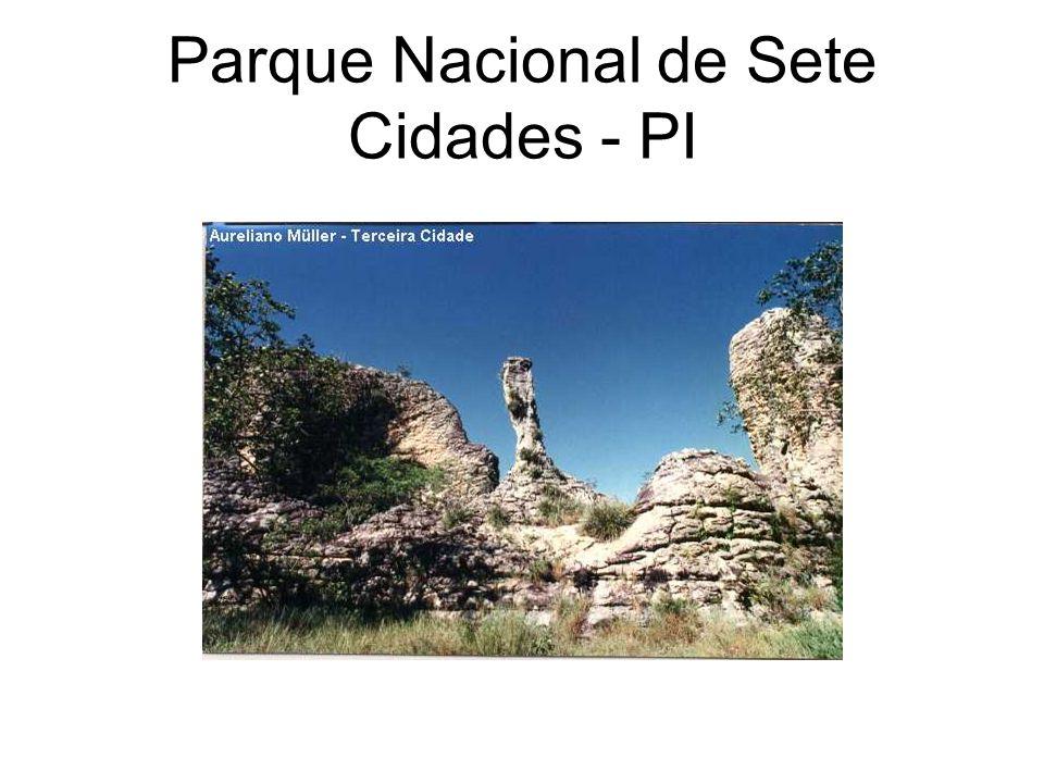 Parque Nacional de Sete Cidades - PI