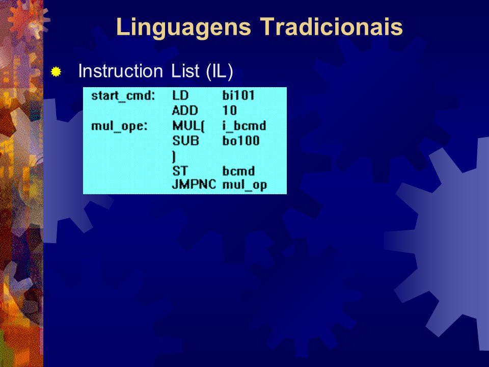 Linguagens Tradicionais  Instruction List (IL)