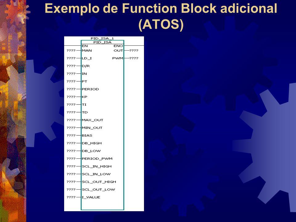 Exemplo de Function Block adicional (ATOS)
