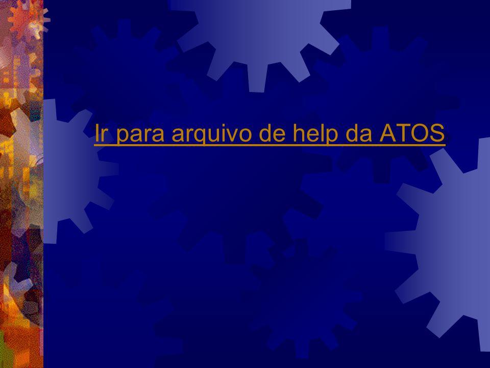 Ir para arquivo de help da ATOS