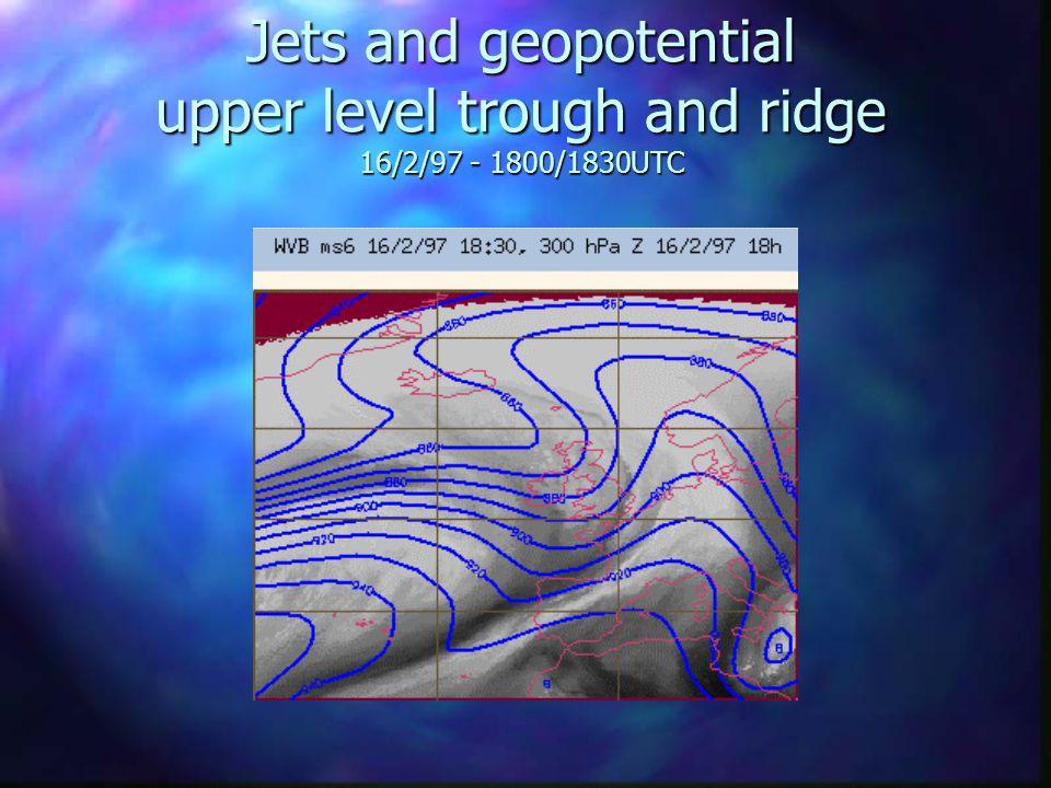 Jet Stream … 22/4/99 - 1230 UTC