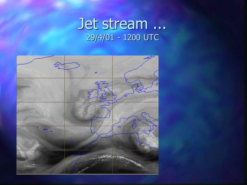 Strong wind - Penhas Douradas 29/4/01 - 1200 UTC n Observations: 40-50 km/h